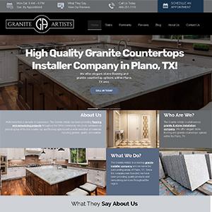 Granite Artists New Website
